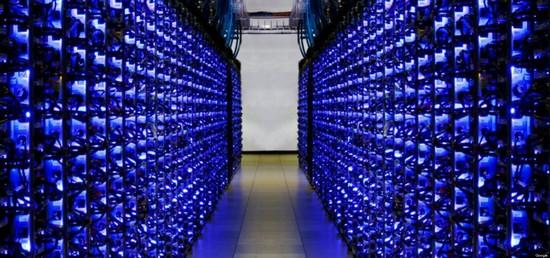 Google Data Center, Mountain View, California