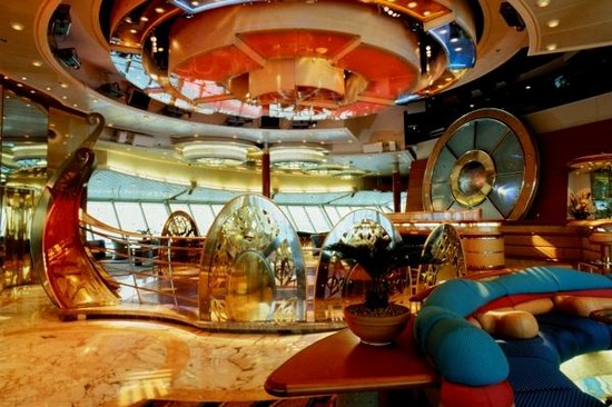 The Splendour of the Seas cruise ship inside