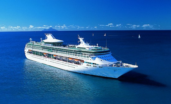 The Splendour of the Seas cruise ship