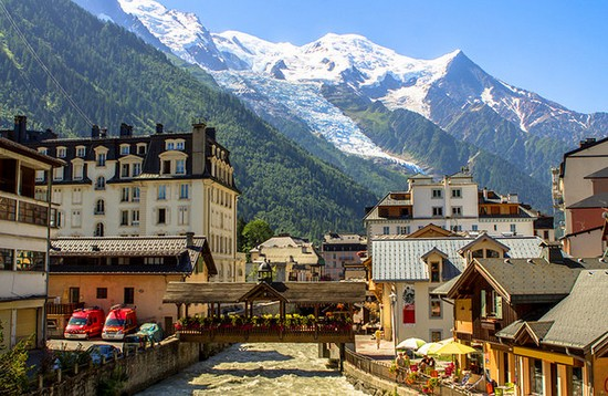 Chamonix france alps