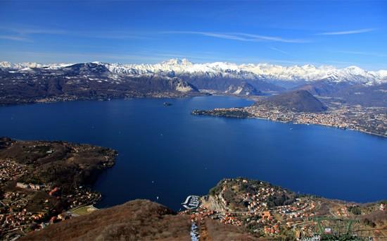 Lago Maggiore italian alps