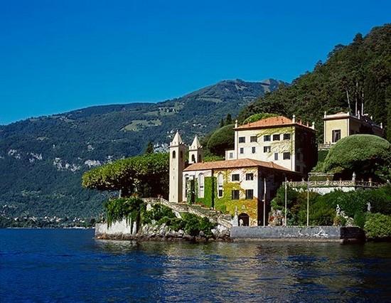 Villa del Balbianello italian alps