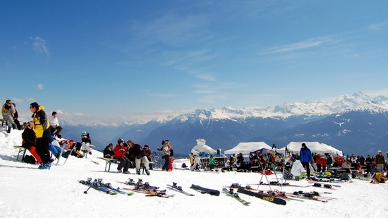 tourism in the alps